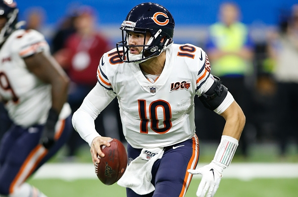 Chicago Bears Maul Detroit