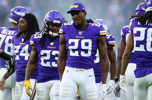 Three Minnesota Vikings Players