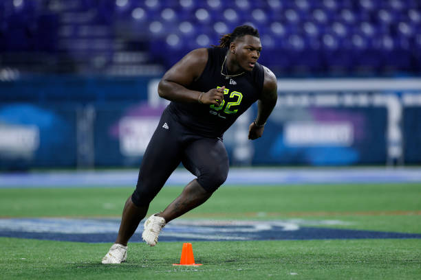 wilson isaiah nfl combine titans college convention indianapolis georgia position redskins draft target balcony jumped nearly spotted rookie getting report