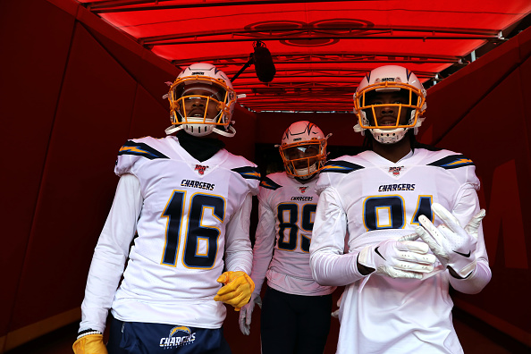 Chargers Wide Receivers