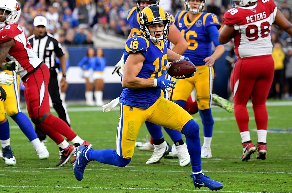 Los Angeles Rams Easiest
