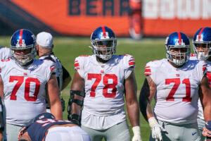 New York Giants Offensive Line
