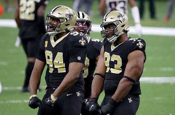 New Orleans Saints Pass Rush
