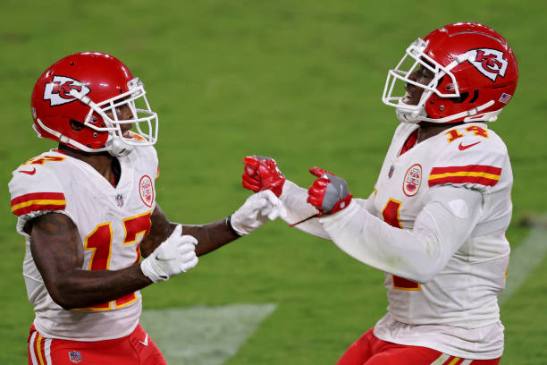 Chiefs Wide Receivers