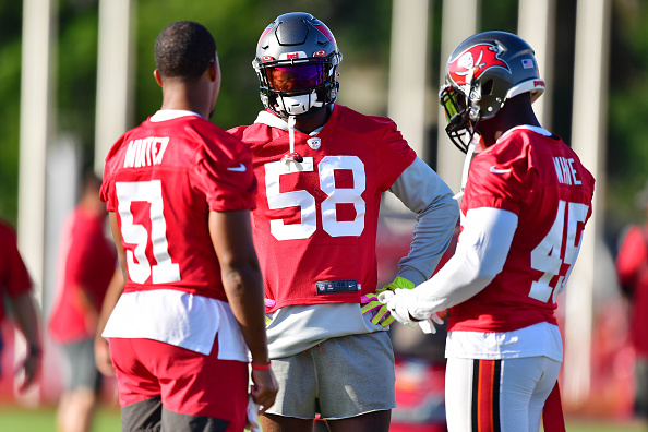 Buccaneers roster projection