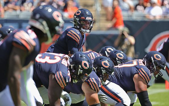 bears rookie justin fields