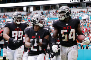 Falcons Steady Their Pace