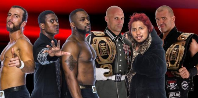 ROH Announces Six-Man Tag Team Championship