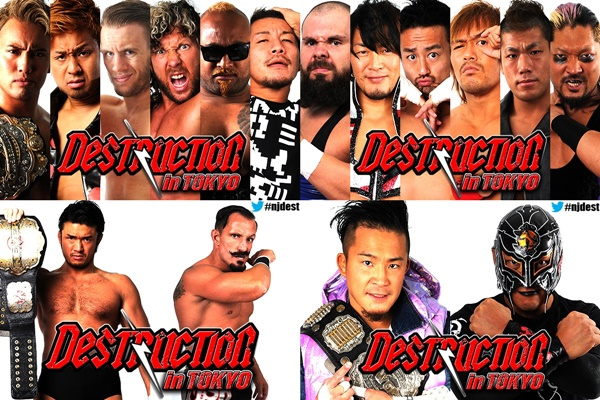 NJPW Destruction in Tokyo Preview
