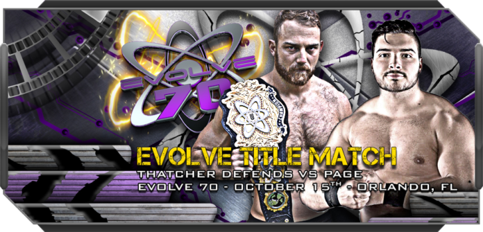 EVOLVE 70,71, RAW,Smackdown and ROH