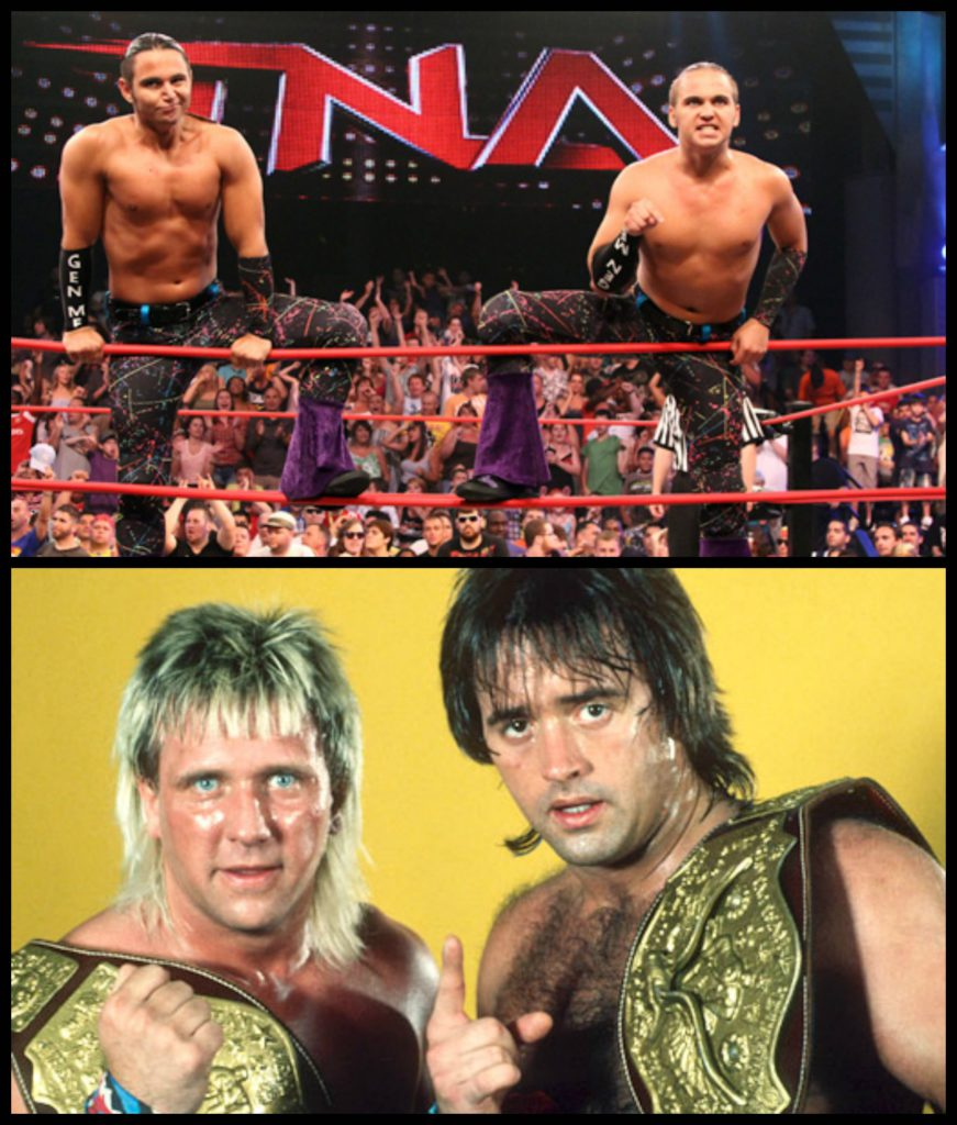 Young Bucks (Photo: impactwrestling.com), Rock N' Roll Express (Photo: pinterest.com)