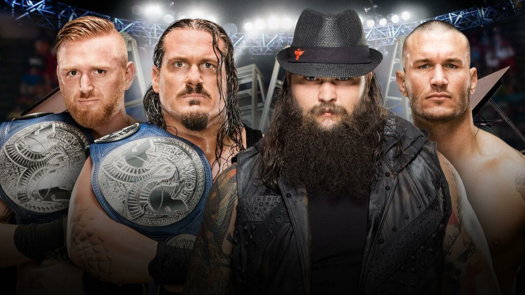 TLC Preview: Heath Slater and Rhyno Versus The Wyatt Family
