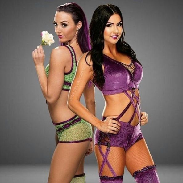 image Iconic duo of wwe nxt peyton royce and billie kay show ass
