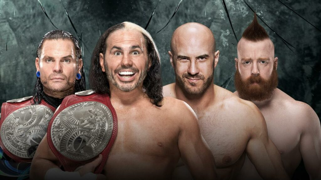 WWE Payback Preview:WWE tag team title match: The Hardy's vs Sheamus and Cesaro