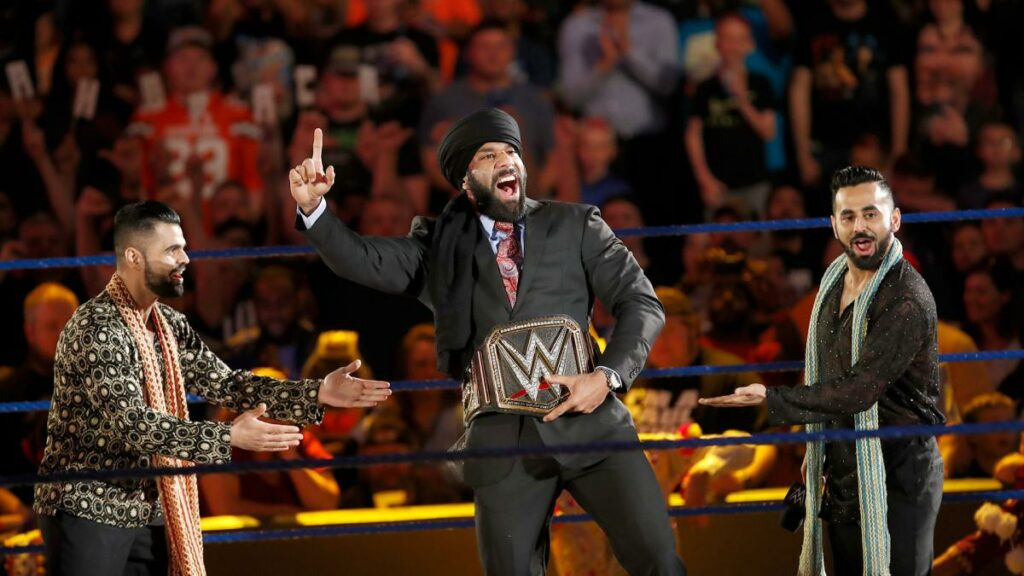Jinder's Reign Is Here