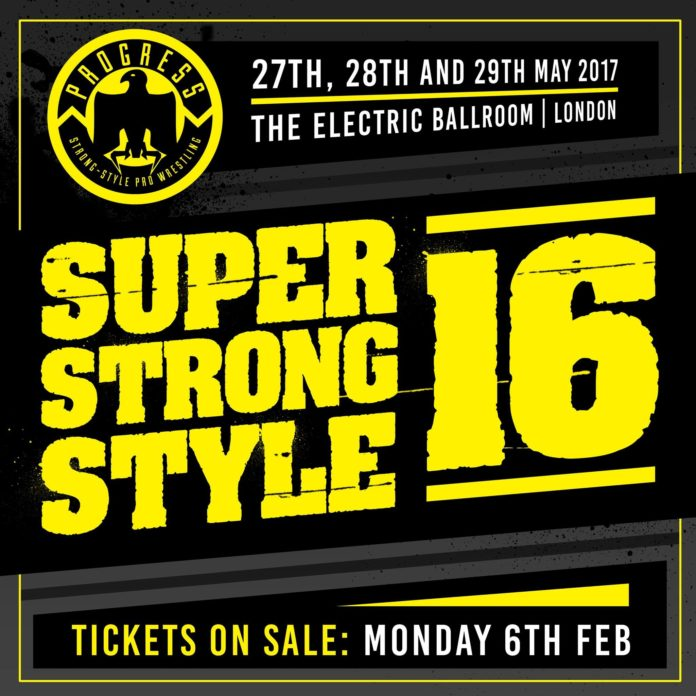 Progress Super Strong Style 16: Who's Winning-Part