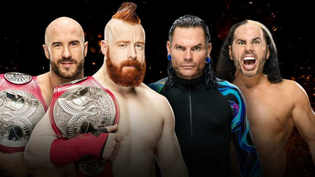 Iron Man-Sheamus and Cesaro vs The Hardys