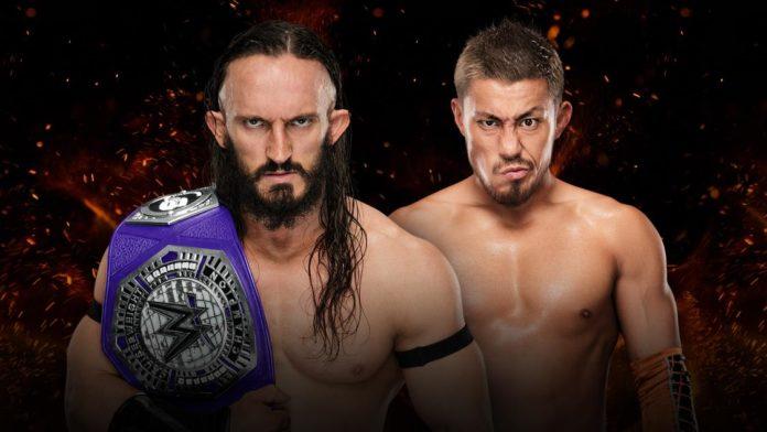 WWE Great Balls of Fire: Neville vs Akira Tozawa