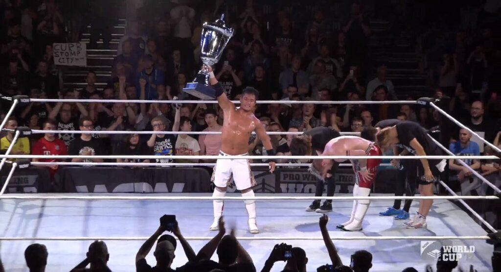 KUSHIDA Rolls On, Wins Inaugural Pro Wrestling World Cup
