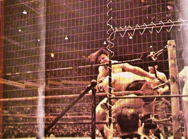 War Games Chambers Amp Steel The History Of The Cage