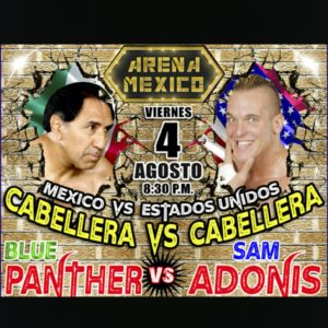 Sam Adonis Looks to Become The Legend Destroyer in CMLL
