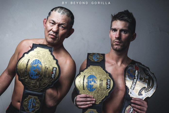 BREAKING: Suzuki-Gun Win RevPro Tag Team Titles