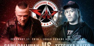 Sami Callihan vs Tetsuya Naito