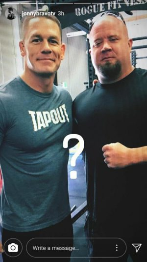 John Cena and Richard Rodriguez