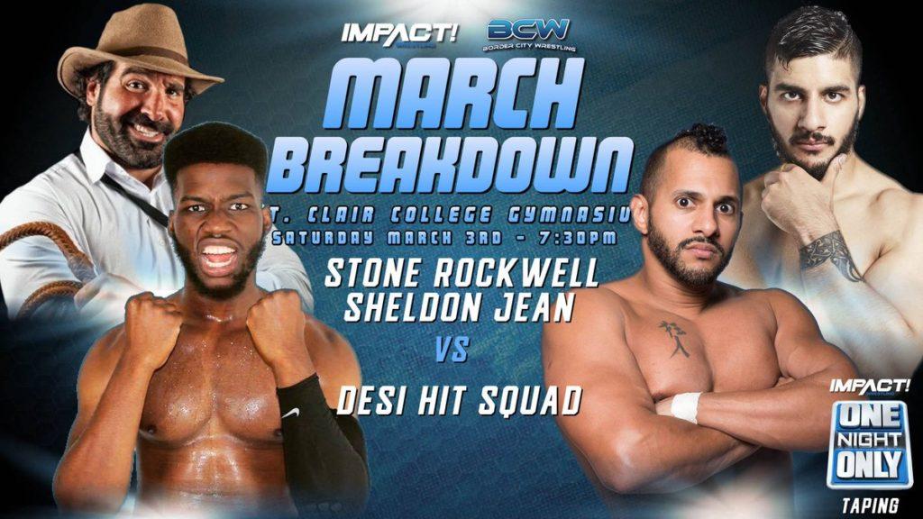 Znalezione obrazy dla zapytania Impact Wrestling One Night Only: March Breakdown