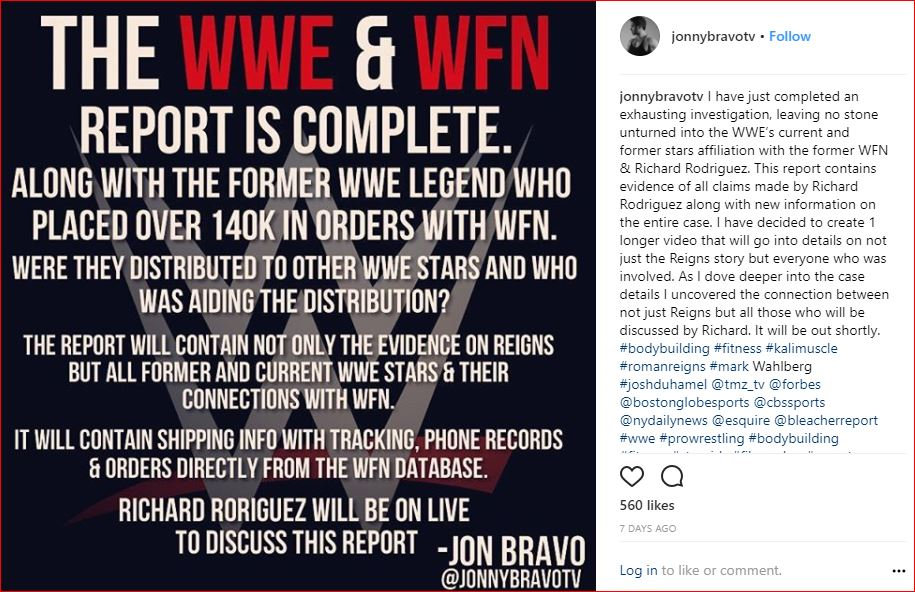 WWE and WFN