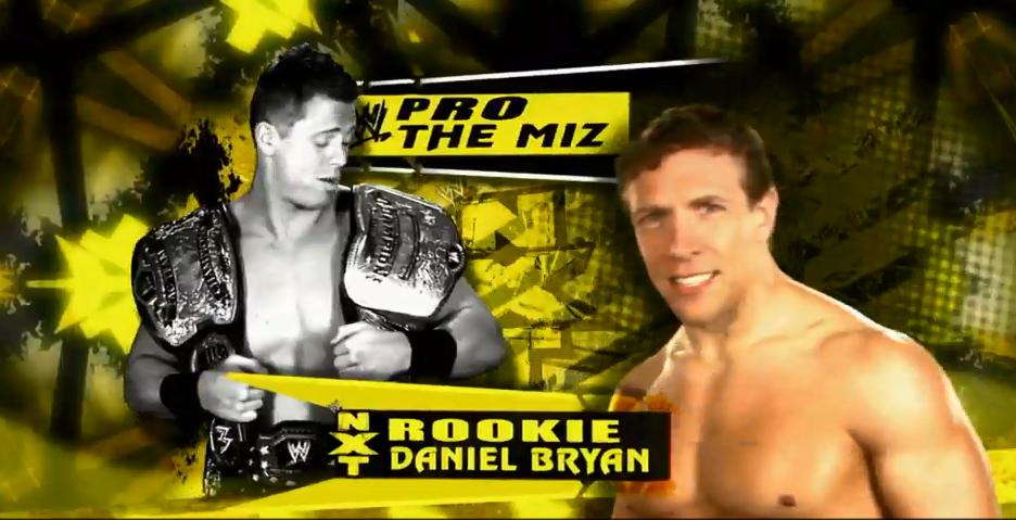 Daniel Bryan and the Miz
