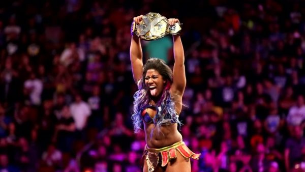 NXT Women's Champion Ember Moon
