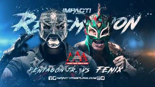 Pentagon Jr. vs Fenix