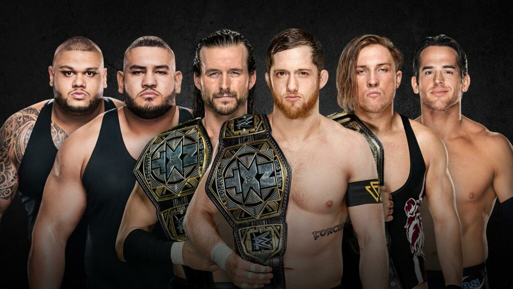 Undisputed ERA vs. Roderick Strong and Pete Dunne vs. Authors of Pain