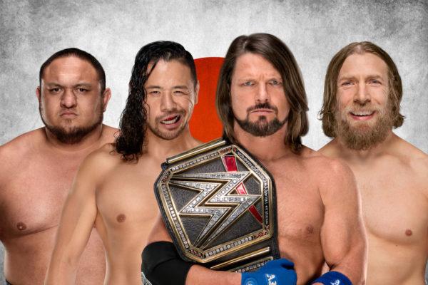 AJ Styles, Samoa Joe, Daniel Bryan, Shinsuke Nakamura