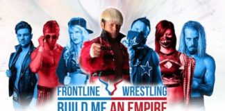 Will Ospreay andFrontline Wrestling