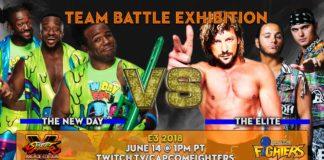 The Elite vs New Day Street Fighter