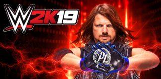 AJ Styles cover art WWE2K19