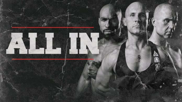 So Cal Uncensored, the trio of Christopher Daniels, Frankie Kazarian and Scorpio Sky, is All In