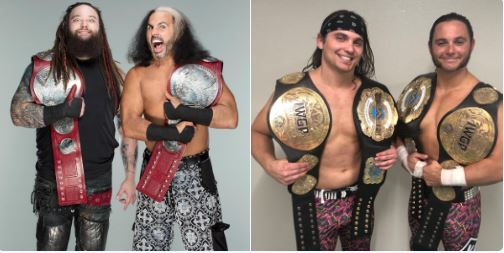 Matt Hardy challenges Young Bucks for ALL IN