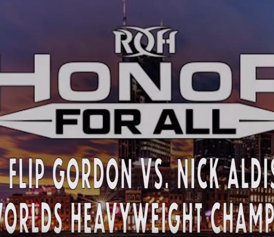 Flip Gordon vs Nick Aldis
