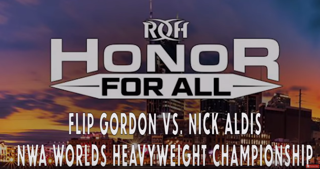 Flip Gordon vs Nick Aldis