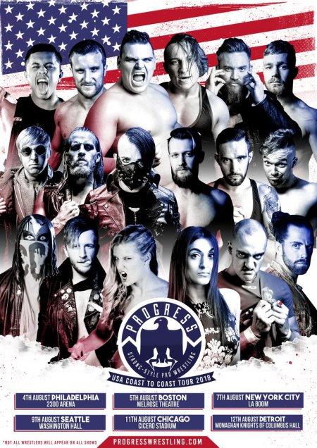 PROGRESS US Tour poster