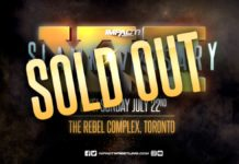 Slammiversary Sold Out
