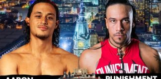 Aaron Solow vs Punishment Martinez for the ROH TV Title