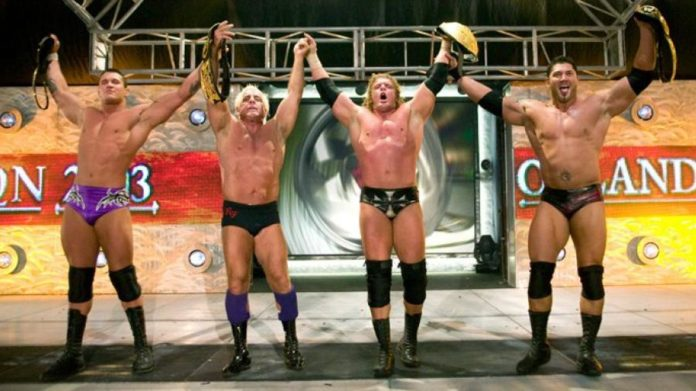 Evolution to Reunite at Smackdown 1000 with Batista