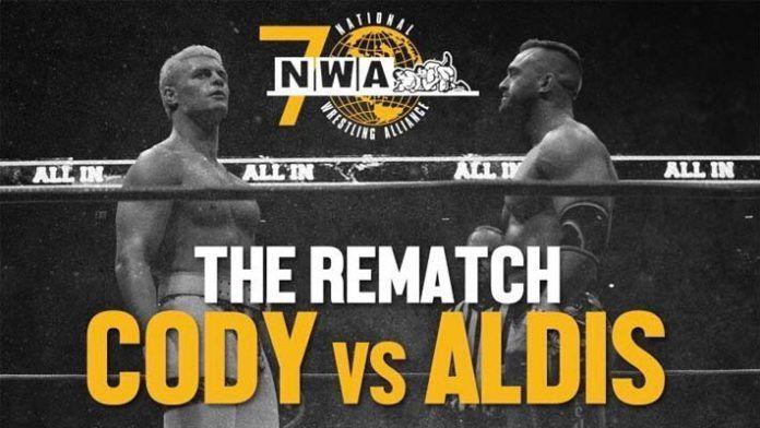 Cody vs Aldis - The NWA Rematch