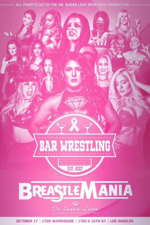 Bar Wrestling Breastlemania