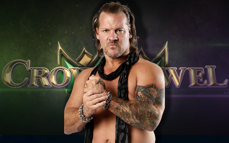 Chris Jericho and Crown Jewel
