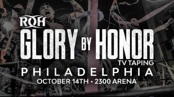Ring of Honor Glory By Honor Philly